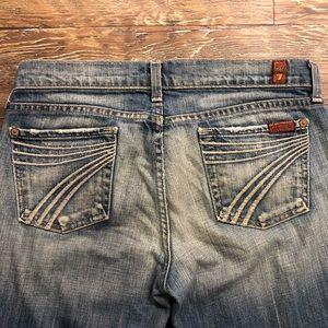 7 for all man kind Dojo jeans size 26